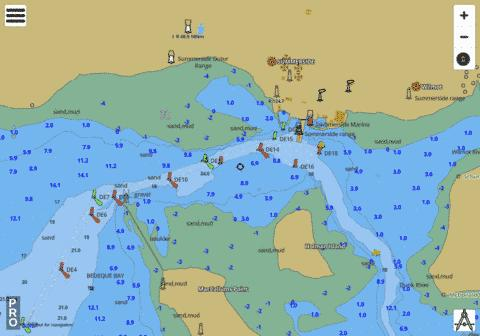 Summerside Harbour Marine Chart - Nautical Charts App