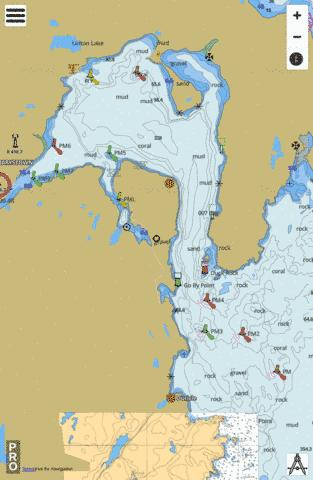 Mortier Bay Marine Chart - Nautical Charts App