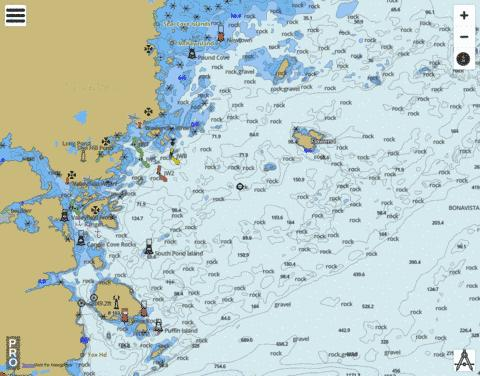 Greenspond Harbour to/� Pond Cove Marine Chart - Nautical Charts App