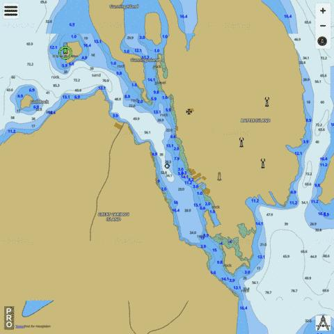 Battle Harbour Marine Chart - Nautical Charts App