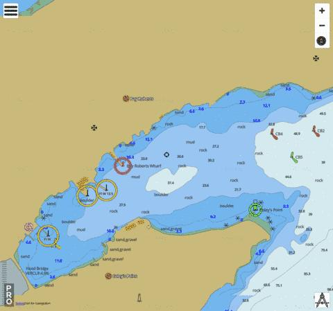 Bay Roberts Marine Chart - Nautical Charts App