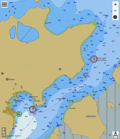 Ship Cove Marine Chart - Nautical Charts App