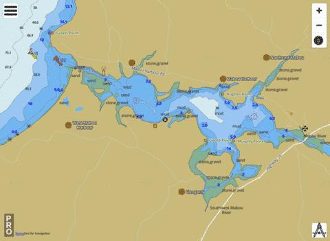 Mabou Harbour Marine Chart - Nautical Charts App