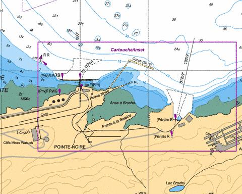 Pointe Noire Marine Chart - Nautical Charts App