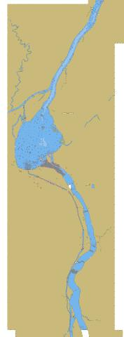 Bassin de Chambly �\to �le Sainte-Th�r�se Marine Chart - Nautical Charts App