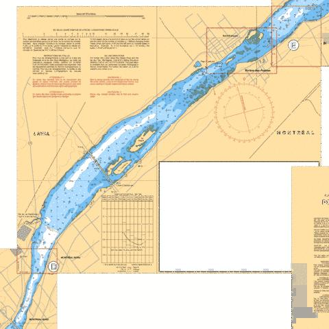 Pont-Viau �\to �le Bourdon D-E Marine Chart - Nautical Charts App