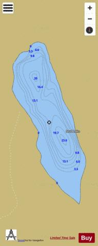 Mud Lake Fishing Map - i-Boating App