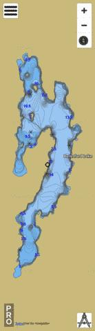 Beresford Lake Fishing Map - i-Boating App