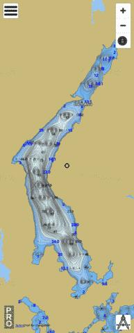 Loch Alva Fishing Map - i-Boating App