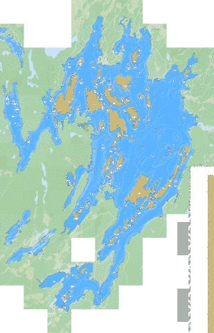 Charleston Lake Marine Chart - Nautical Charts App
