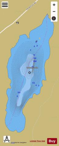 Lowney Lake Fishing Map - i-Boating App