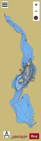 Clyde Lake Fishing Map - i-Boating App