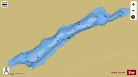 Balsam Lake Fishing Map Ontario Canada Fogal (Balsam) Lake (Fishing Map : CA_ON_CA_ON_V_103381992_on