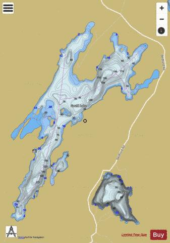 Gould Lake Fishing Map - i-Boating App