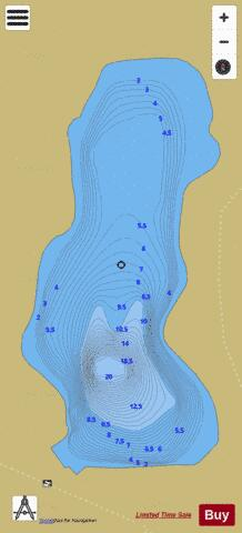 6J29 (White River) Fishing Map - i-Boating App