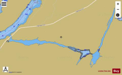 Tyson Channel Fishing Map - i-Boating App