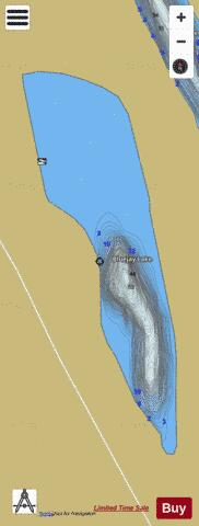 Bluejay Lake Fishing Map - i-Boating App