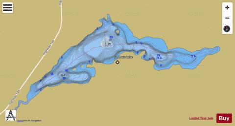 St Louis Lake Fishing Map - i-Boating App