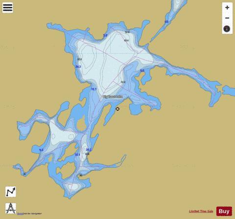Big Trout Lake Fishing Map Ca On V 103380731 Nautical Charts App