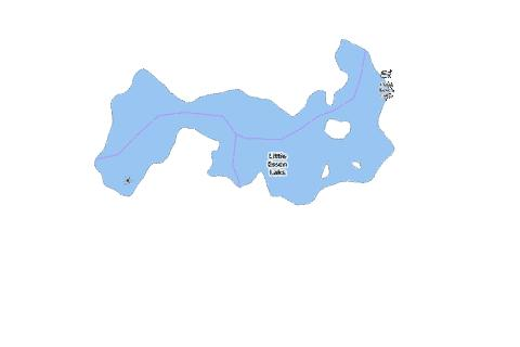 Little Esson Lake Fishing Map - i-Boating App