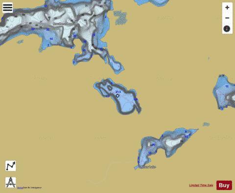 blue lake ontario map Blue Lake Fishing Map Ca On V 103380964 Nautical Charts App blue lake ontario map