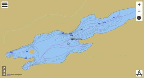 Nisbet Lake Fishing Map - i-Boating App