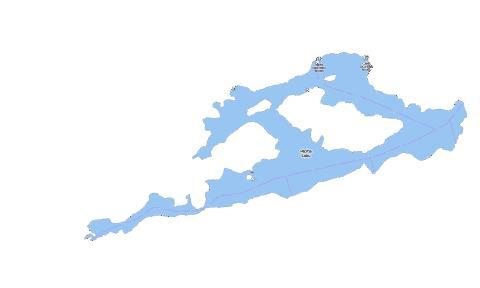Marks Lake Fishing Map CAONV Nautical Charts App - Marks lake maps
