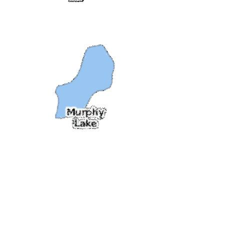 Murphy Lake Fishing Map - i-Boating App