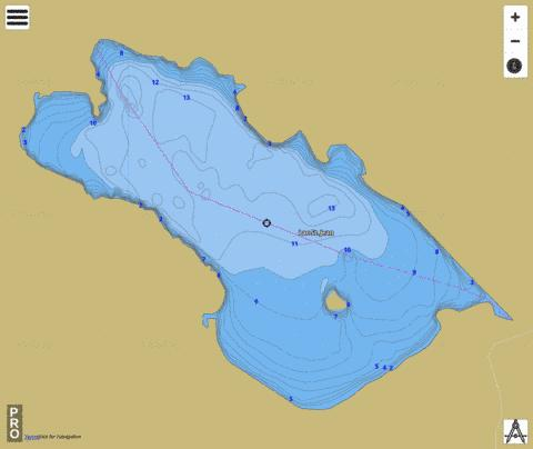 Lac St. Jean Fishing Map - i-Boating App