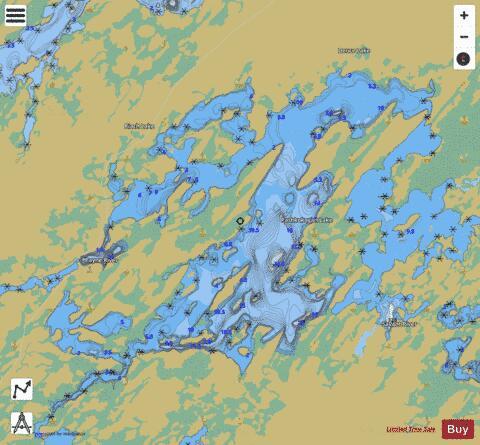 Pashkokogan Lake (Fishing Map : CA_ON_V_103404770) | Nautical Charts App