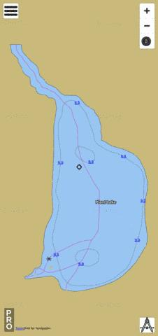 Plant Lake Fishing Map - i-Boating App