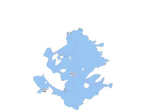 Norway Lake Fishing Map - i-Boating App