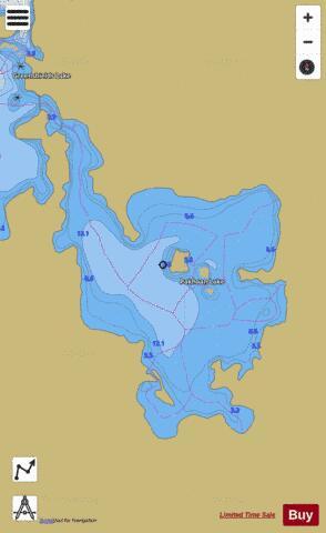 whitestone lake fishing map Pakhoan Lake Fishing Map Ca On V 103412960 Nautical Charts App whitestone lake fishing map