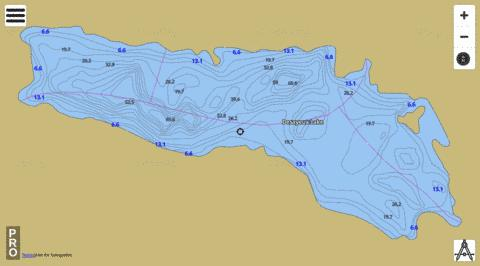 Desayeux Lake Fishing Map - i-Boating App