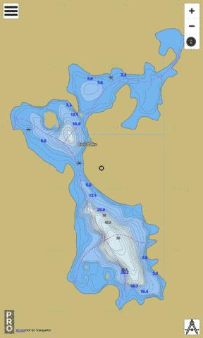 Barr Lake Fishing Map - i-Boating App