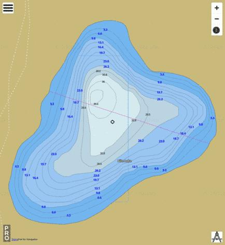 pike lake ontario map Pike Lake Fishing Map Ca On V 117531264 Nautical Charts App pike lake ontario map