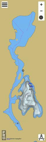 Kenda Lake Fishing Map - i-Boating App