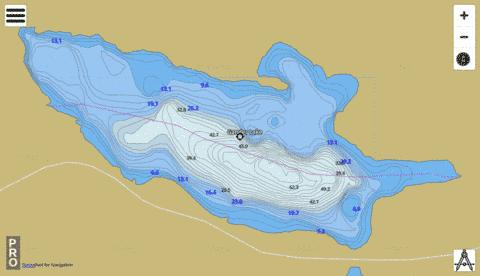 Gander Lake Fishing Map - i-Boating App