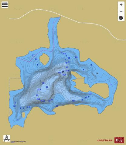 Banting No 55 Fishing Map - i-Boating App