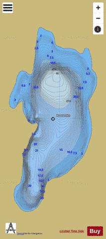 Boot Lake / Boc Lake Fishing Map - i-Boating App