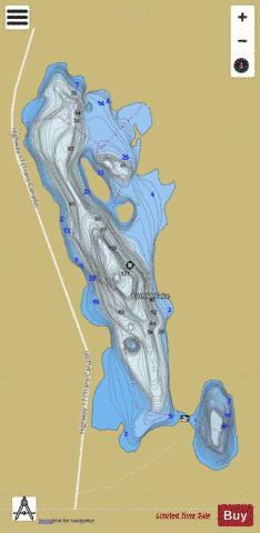 Catfish Lake Fishing Map - i-Boating App