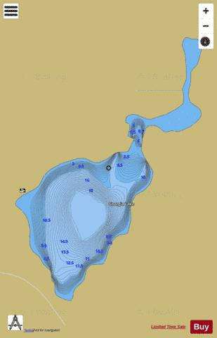 Georgia Lake Fishing Map - i-Boating App
