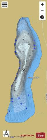 Haddow Lake Fishing Map - i-Boating App