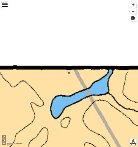 Jennings Lake Fishing Map - i-Boating App
