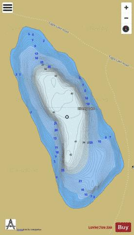 Liberty Lake Fishing Map - i-Boating App