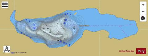 Loch Muich Fishing Map - i-Boating App