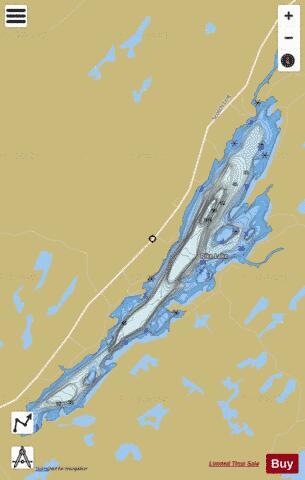 pike lake ontario map Pike Lake Fishing Map Ca On Pike Lake On Nautical Charts App pike lake ontario map
