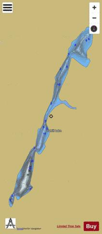 Tahill Lake Fishing Map - i-Boating App