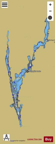 Tatachikapika Lake Fishing Map - i-Boating App