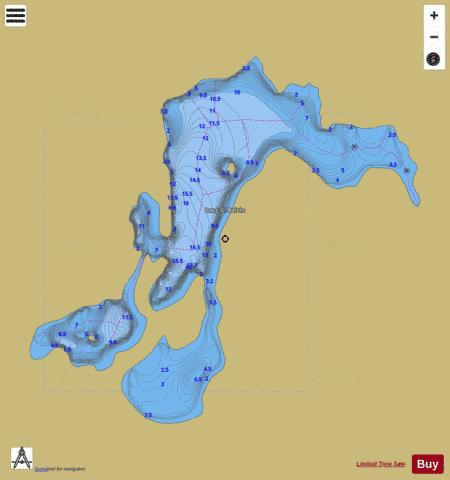 CA_QC_99821_qc Fishing Map - i-Boating App